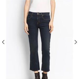 Vince crop flare jeans